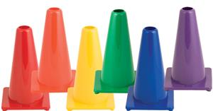 "Champion Hi Visibility Flexible Vinyl 9"" Cone Sets"