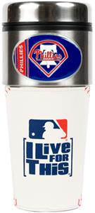 MLB Philadelphia Phillies Gameball Travel Tumbler