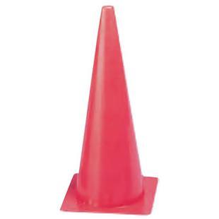 "Champion Sports Hi Fluorescent 18"" Poly Cones"