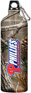 MLB Phillies 32oz RealTree Aluminum Water Bottle