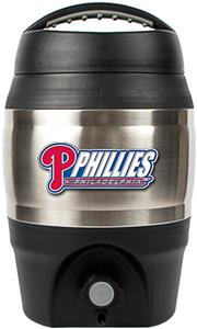 MLB Phillies 1gal Tailgate Jug Push Button Spout