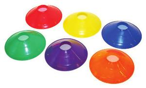 Champion Sports 9&quot; Saucer Field Cones (Each)