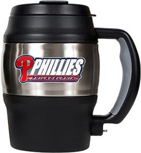 MLB Phillies 20oz. Stainless Steel Mini Jug
