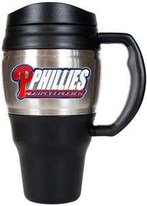 MLB Phillies Stainless Steel 20oz Travel Mug