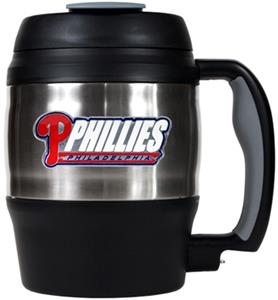 MLB Phillies 52oz Stainless Macho Travel Mug
