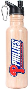 MLB Phillies 26oz Baseball Bat Water Bottle