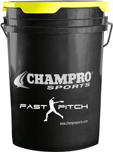 Champro Fast Pitch Softball Ball Bucket BUCKETFP