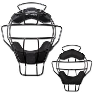 Lightweight Umpire Mask Leather Dri-Gear Pads CM72