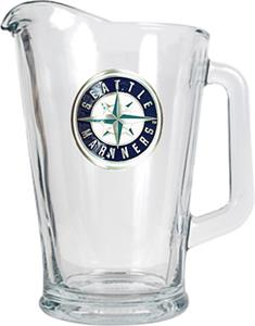 MLB Seattle Mariners 1/2 Gallon Glass Pitcher