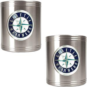 MLB Seattle Mariners Stainless Steel Can Holders