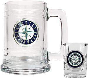 MLB Seattle Mariners Boilermaker Gift Set