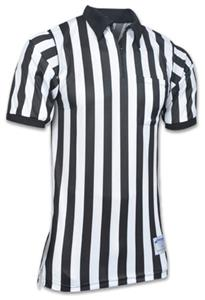 Short Sleeve Zebra Football Officials Jersey