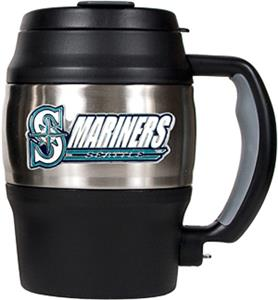 MLB Seattle Mariners 20oz Stainless Steel Mini Jug