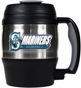 MLB Mariners 52oz Stainless Macho Travel Mug