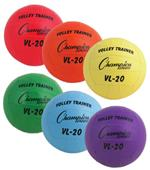 Champion Sports Volleyball Trainer Set of 6 Colors