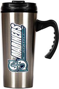 MLB Mariners Stainless Steel 16oz Travel Mug