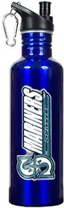 MLB Mariners 26oz Blue Stainless Water Bottle