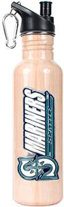MLB Mariners 26oz Baseball Bat Water Bottle