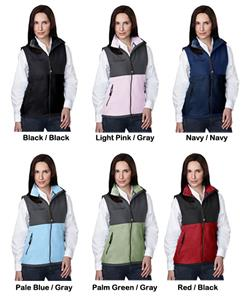 TRI MOUNTAIN Women's Cienna Panda Fleece Vest