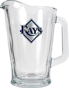 MLB Tampa Bay Rays 1/2 Gallon Glass Pitcher