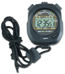 Large Display Water Resistant Stopwatch A155