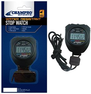 Champro Water Resistant Stopwatch A152