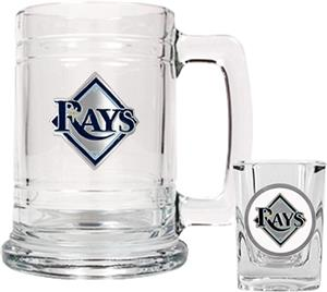 MLB Tampa Bay Rays Boilermaker Gift Set