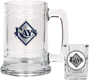 MLB Tampa Bay Rays Boilermaker Gift Set
