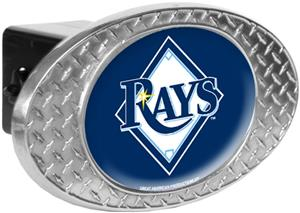 MLB Tampa Bay Rays Diamond Plate Hitch Cover
