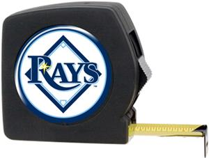 MLB Devil Rays 25' Tape Measure Crystal Coat Logo