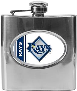 MLB Tampa Bay Rays 6oz Stainless Steel Flask