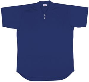 A4 2-Button Henley Baseball Jersey