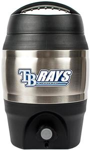 MLB Devil Rays 1gal Tailgate Jug Push Button Spout