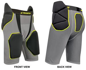 Integrated Girdle w/Built-in Hip Tail Thigh Pad CO