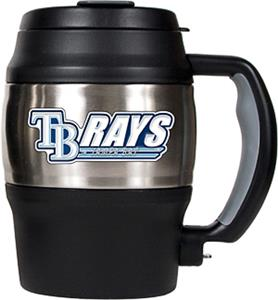 MLB Tampa Bay Rays 20oz Stainless Steel Mini Jug