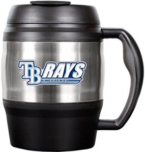 MLB Devil Rays 52oz Stainless Macho Travel Mug