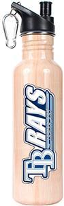 MLB Devil Rays 26oz Baseball Bat Water Bottle
