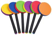 Champion Sports Rhino Skin Racket Set of 6 Colors