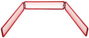 Champion Sports Bowling Pin Steel Backstop