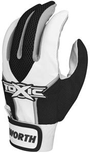 Worth Youth Toxic Baseball/Softball Batting Gloves