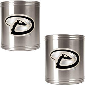 MLB Diamondbacks Stainless Steel Can Holders