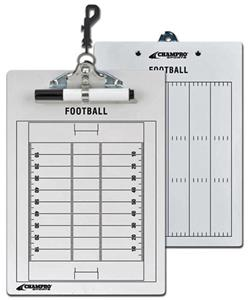 2 Sided Football Coachs&#39;s Dry Erase Clip Board