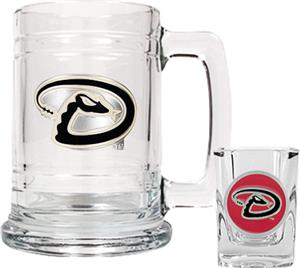 MLB Arizona Diamondbacks Boilermaker Gift Set