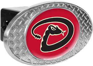 MLB Arizona Diamondbacks Diamond Plate Hitch Cover