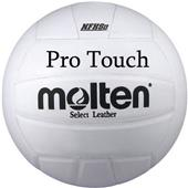 Molten NFHS USAV White Pro Touch men's volleyballs