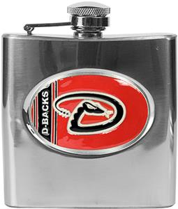 MLB Arizona Diamondbacks 6oz Stainless Steel Flask