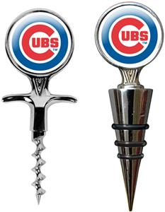 MLB Chicago Cubs Cork Screw & Bottle Topper