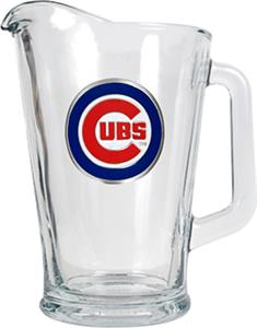MLB Chicago Cubs 1/2 Gallon Glass Pitcher