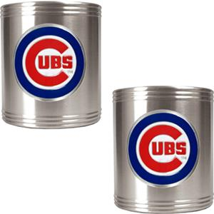 MLB Chicago Cubs Stainless Steel Can Holders