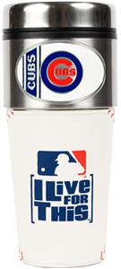 MLB Chicago Cubs Gameball Travel Tumbler